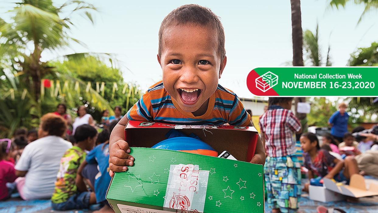 Operation Christmas Child – Shoebox Collection Week